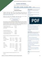 Analisa Harga Satuan Pasangan Dinding Bata Ringan - Rumah Material