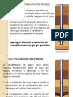 Completación de Pozos y Registros de Cementacion