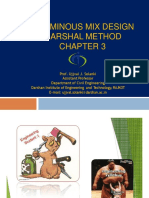 Chapter 3 Marshal Mix Design