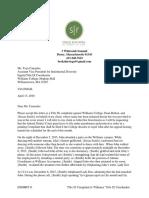 Title IX complaint against Williams College personnel by John Doe