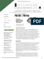 PW100 _ PW150 _ Pratt & Whitney Canada