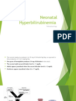 Neonatal Hyperbilirubinemia PATHOPHYSIOLOGY