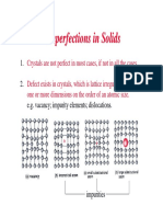 Ch 4 - Imperfections in solids