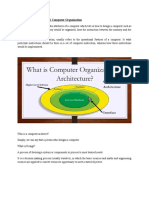 Computer architecture vs computer organisation