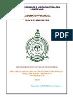 IV Eee i Sem Mpmc Lab Manual(Ee432)