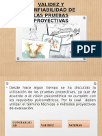 Validez y Confiabilidad de Las Pruebas Proyectivas
