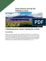 Vishakhapatnam Airport during the cyclone.docx