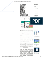 Tutorial Lengkap Membuat Blog _ Website Menjadi Aplikasi Android APK