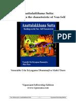 679. AnattalakkhanaSutta - Ven Dhammajiva Maha Thero