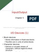 Chapter05 Input Output