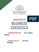 Statistics Print