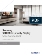 [Specification Book] SMART Hospitality Display_Asia