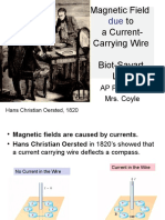 4 Magnetic Field Due to a Current-Carrying Wire, Biot-Savart Law APC