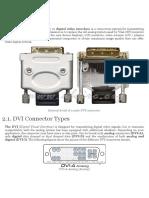 DVI Digital Visual Interface