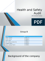Health and Safety Audit Presentation