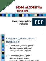 Materi 7 Tipe & Mode Algoritma Simetri(Bagian 1)