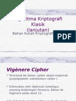 Materi 3 Kriptografi Klasik