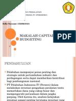 Makalah Capital Budgeting