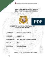 Lavado Ramos E. - Puertas, Ventanas y Tapones