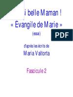Evangile Marie 2  Maria Valtorta