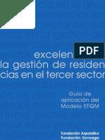 Excelencia en la gestión de residencias del Tercer Sector.