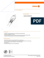 GPS01 1028526 Low-Voltage Halogen Lamps Without Reflector