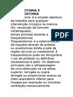 Diferença Entre Traqueostomia e Traqueotomia