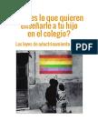 Panfleto homófobo de la asociación 'Hazte Oír'