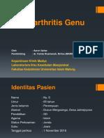 Lapsus Osteoarthritis Genu (Presentasi)