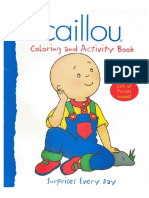 Caillou - Coloring and Activity Book
