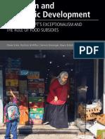 Nutrition and economic development