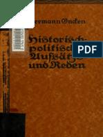 Historisch-politische Aufsätze Und Reden Oncken