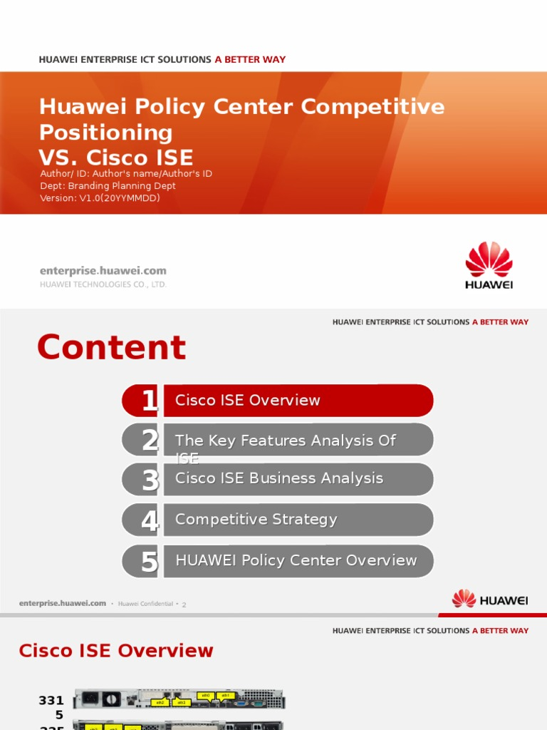 HUAWEI Policy center Competitive Positioning 1 pptx | Radius