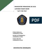 Laporan Akhir PMW 2016 oleh