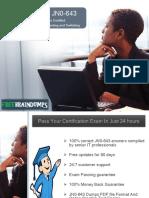 Freebraindumps JN0-643 Exam Dumps