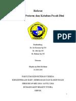 Persalinan Preterm & KPD