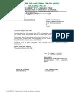 Contoh surat Delegasi HMI