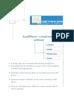 LoadTracer - a Load Testing Software