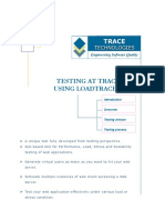 Testing at Trace Using Loadtracer