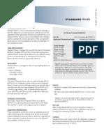 Standard Primer Product Data