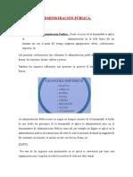 TEMA 1 - Introducción a La Administracion Publica