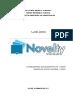 Plano de Negócios - Novelty Terceirização
