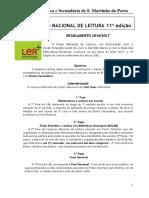 Regulamento CNL Fase Escola - EBS de S. Martinho do Porto