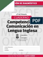 Competencia Ingles Primaria 12 13