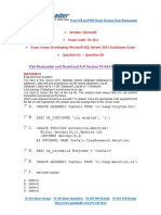 70-464 Exam Dumps with PDF and VCE Download (61-90).pdf