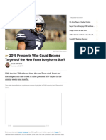 2019 Scout Potential Targets