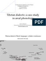 Tibetan dialects