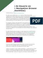 Interfaz de Usuario en Android Navigation