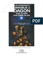 HP Lovecraft Omnibus 2 - Dagon and Other Tales