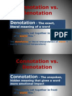 ppt connotation and denotation  1